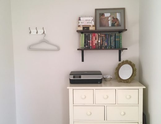 KatharineSchellman.com - tiny apartment guest room