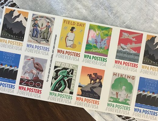 WPA stamps - KatharineSchellman.com - little things, lately